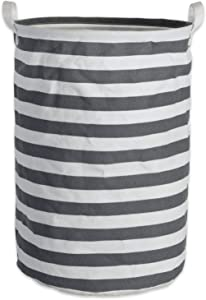 DII Cotton/Polyester PE Coated Assorted Laundry Bins, Hamper, Gray