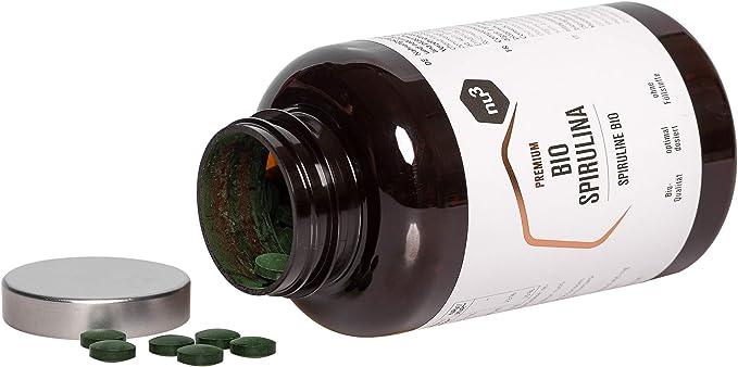 nu3 – Espirulina orgánica en capsulas - 200g - Superalimento ...