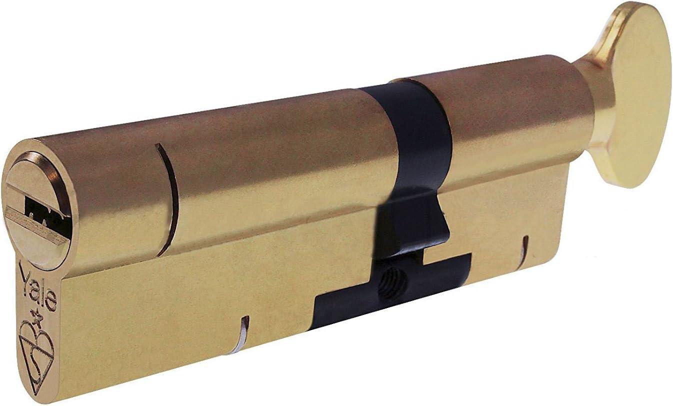 PVC Bomb/ín para cerradura de Yale que protege contra el forzado alta seguridad