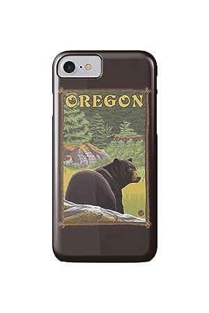 Black Bear - Oregon State (iPhone 7 Cell Phone Case, Slim ...
