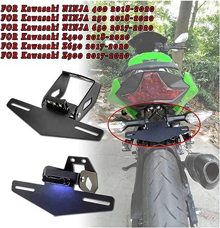 Für Kawasaki Ninja 400 250 650 Z400 Z650 Z900 Z900rs Kennzeichenhalter Ninja 400 Ninja 650 Ninja 250 Heckklappen Kotflügel Eliminator Küche Haushalt