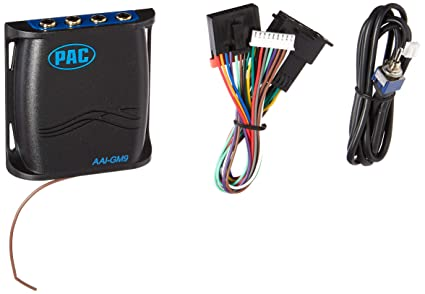 PAC AAI-GM9 Auxiliary Input For GM 9-PIN on