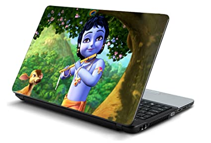 Pixelz Lord Krishna Design Laptop Skins 15 6 Inch Stickers Hd