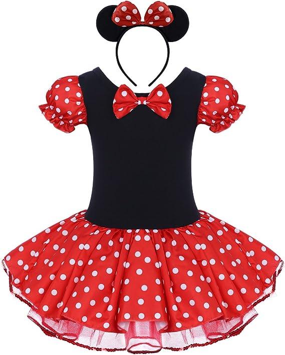 Vestido de Fiesta Princesa Disfraces Tutú Ballet Lunares para ...