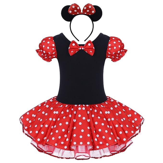 Bebé Niña Vestido de Fiesta Princesa Disfraces Tutú Ballet Lunares Fantasía Vestido Carnaval Bautizo Cumpleaños Baile para Infantiles Recién Nacido ...