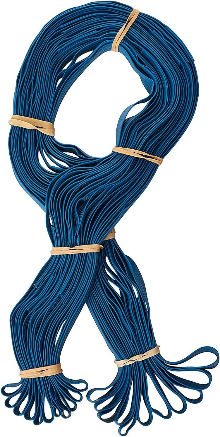 """Extra Large Rubber Bands- 12 Pack of 30"""" Length Extra Strength - Pallet Band or Moving Blanket Band (Color May Vary) - by Kitchentoolz"""