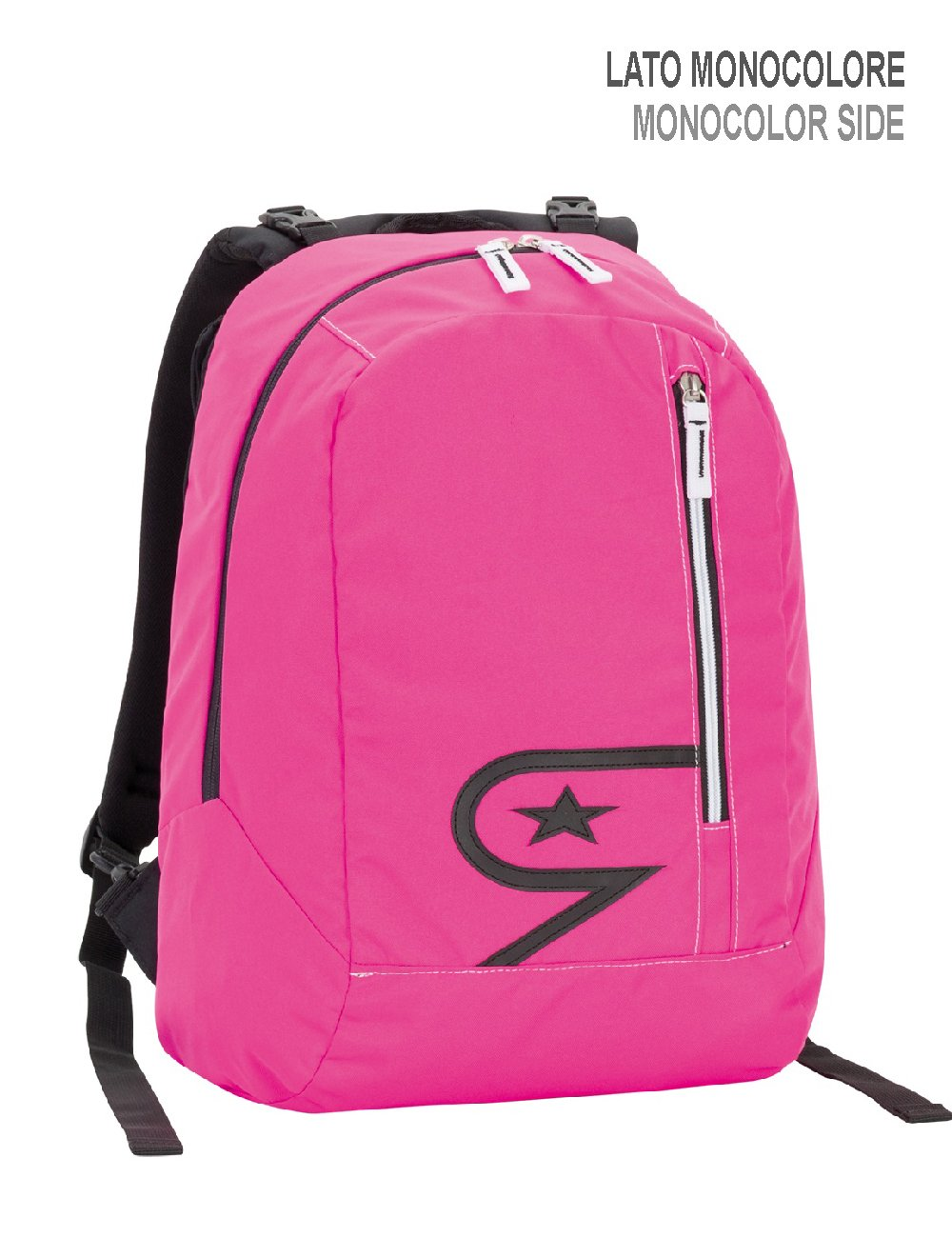 c7a8ce8ed3 Zaino Seven The Double, 27 litri, Rosa Camouflage, Scuola & Tempo Libero:  Amazon.it: Valigeria