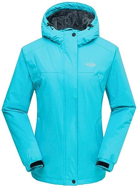 Wantdo Chaqueta para Mujer de Esquí de Montaña Contraviento con Capucha: Amazon.es: Ropa y accesorios