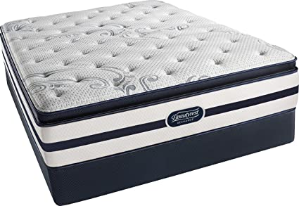 beautyrest recharge simmons plush pillow top mattress set pocketed coil aircool gel simmons pillow top mattress m40 simmons