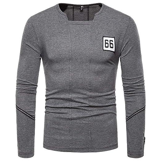 ZODOF camisa hombre camisas sport Casual Pure Color algodon ...