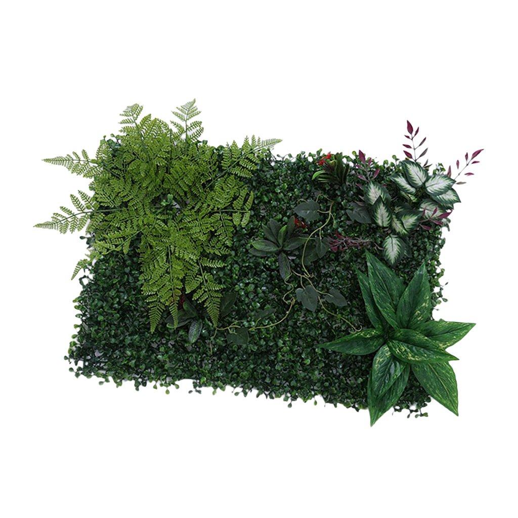Sharplace 4PCS 60 40 cm Planta Artificial Paneles de Pared Adorno Decoraci/ón de Lugar de Boda