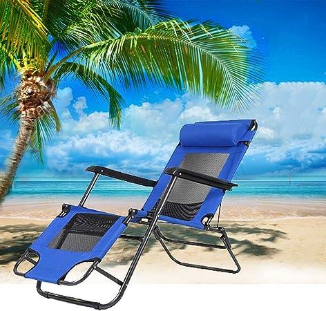 Chair Tumbona Jardin Exterior Plegable Tumbona Plegable Madera Tumbona Jardin Exterior con Colchoneta,mecedoras, Tumbona Ergonómica,178 * 35 * 52.5cm: Amazon.es: Hogar