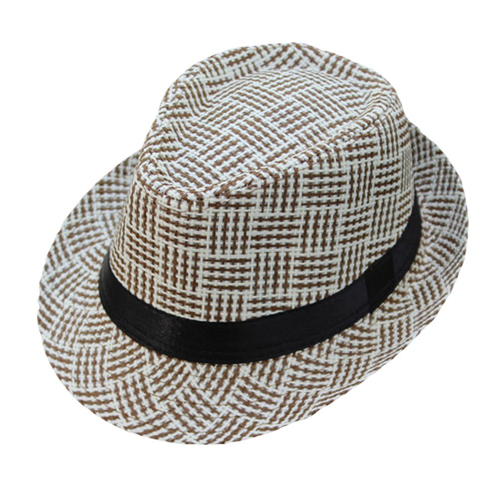 Respctful ♪☆ Hat Clearancesales,Unisex Print Sun Beach Hats Wide Brim Straw Hat Outdoor Travel Hat