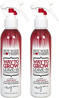 product image for Not Your Mother's Way to Grow Leave-In Conditioner, pack of 2, 6.0 Fl Oz each