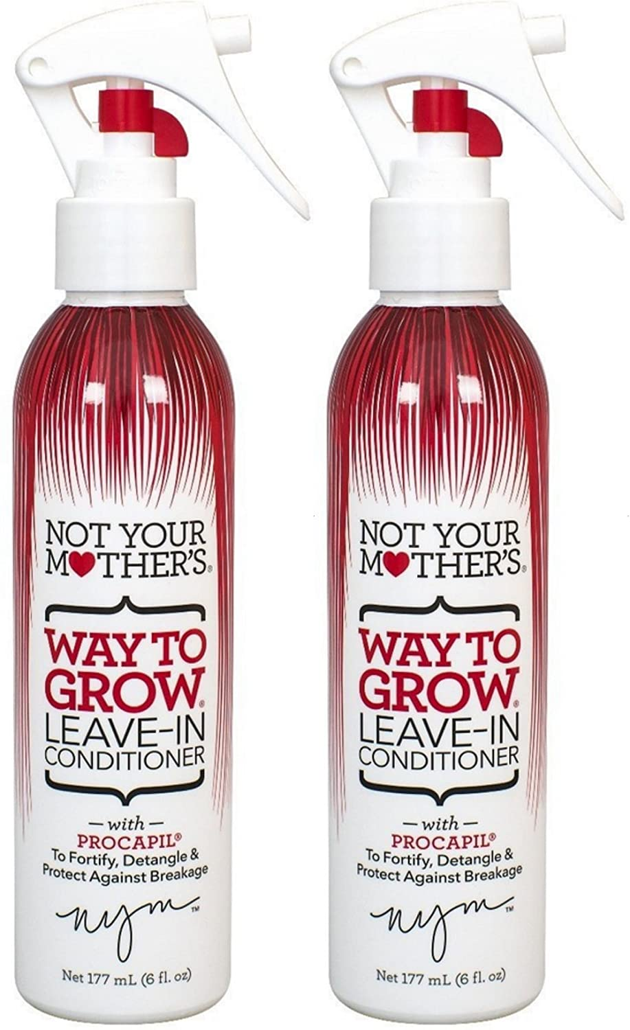 Not Your Mothers Way To Grow Leave-In Conditioner, 6 Ounce (177ml) 13024