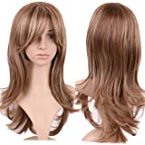 S-noilite® Stylish Lady Long Curly Full Head Wigs Cosplay Costume Party Fancy Daily Dress