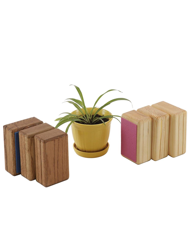 Handstand Blocks: Oak or Pine