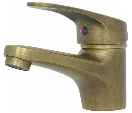Retro Waschbecken Waschtisch Armatur Einhebelmischer Einhand