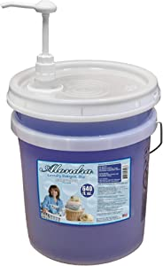 Alondra Mild Fresh Scent Ultra Concentrated HE Liquid Laundry Detergent 640 fl. oz. 5 Gallon Bucket with Dispensing Pump (Approx. 426 Loads)