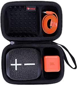 XANAD Hard Case for Ultimate Ears WONDERBOOM or WONDERBOOM 2 Speaker - Storage Protective Travel Carrying Bag (Black)