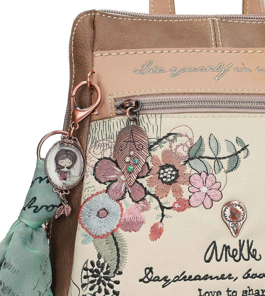 5bbd1ac00fb Anekke Mochila de paseo con pañuelo Jane  Amazon.es  Zapatos y complementos