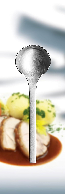 Puresigns ONE Extra Saucenl/öffel 18cm Edelstahl Matt Silber