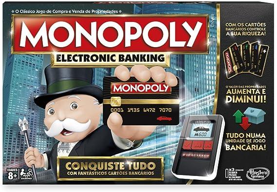 Hasbro Gaming - Monopoly Electronic Banking (Hasbro B6677190) (versión en portugués): Amazon.es: Juguetes y juegos