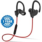 Drumstone captcha QC10 Jogger Bluetooth Headphone with Stereo Sound for All Android or iPhone Devices (Colour May Vary)