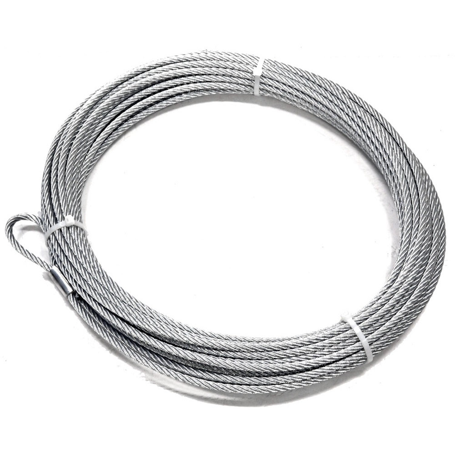 x 125 ft. WARN 15712 Replacement Wire Winch Rope 3//8 in