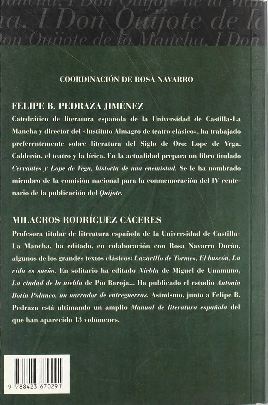 Amazon.com: Don Quijote de la mancha / Don Quixote (clasicos edebe / Edebe Classics) (Spanish Edition) (9788423670291): Miguel de Cervantes Saavedra, ...