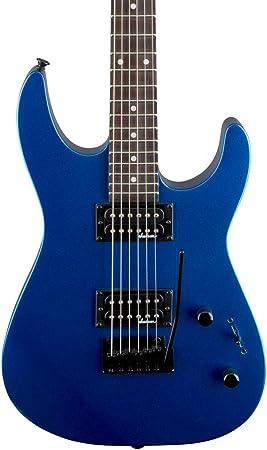 Jackson JS 11 Dinky Metallic Blue Rosewood Fingerboard Guitarra Eléctrica