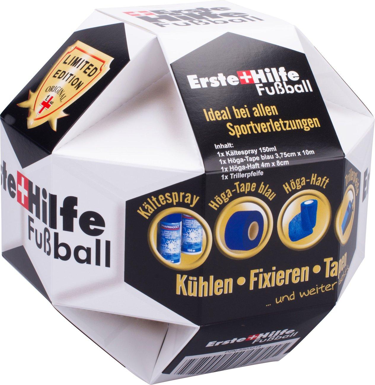 Erste Hilfe Fußball,Kühlen - Fixieren - Tapen ...und weiter geht\'s ...