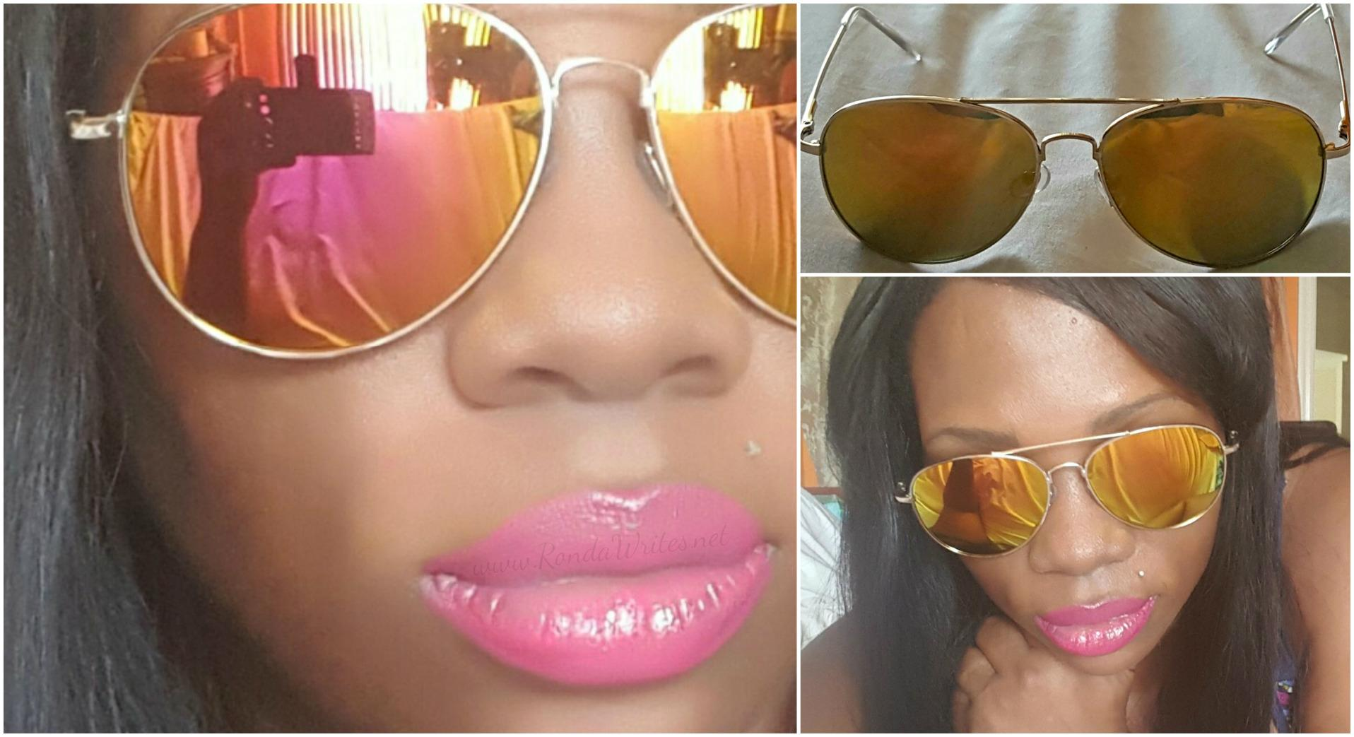 Amazon Review: WearMe Pro® - Premium Mirror Lenses Aviator Sunglasses