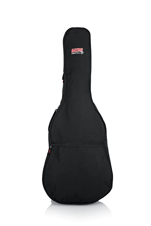 5e137038dcc Amazon.com: Gator Cases Gig Bag for Dreadnaught Acoustic Guitars  (GBE-DREAD): Musical Instruments