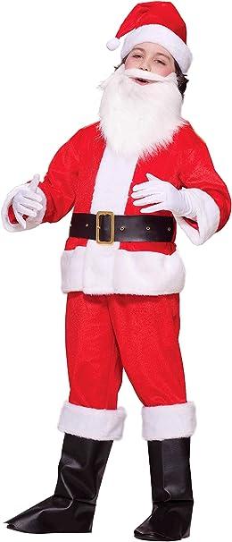 Amazon.com: Lil traje de Papá Noel Deluxe Child Costume ...
