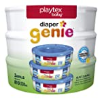 Playtex Diaper Genie Diaper Pail System Refills, 3 pack