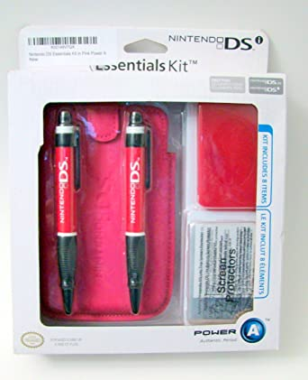 Amazon.com: New Pink Nintendo DS Essentials Kit Power A ...