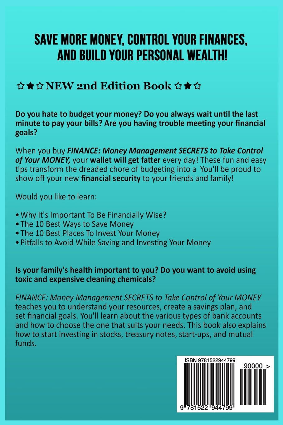 Finance Money Management Secrets To Take Control Of Your Choose Savings Dwayne Brown 9781522944799 Books