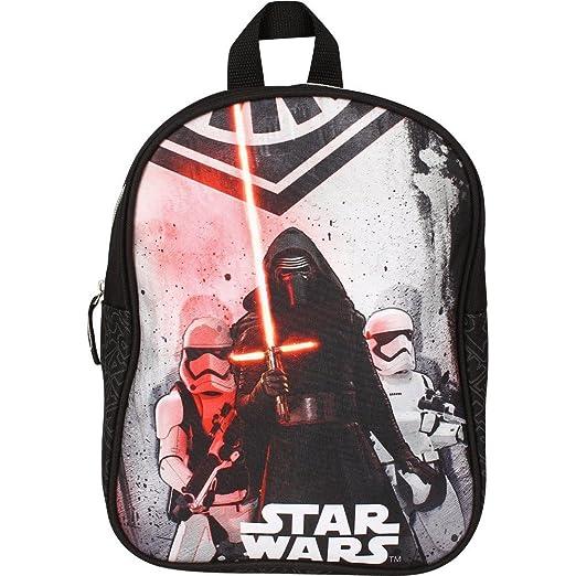 Disney 20449 9013 Star Wars Kinder Rucksack, Schwarz