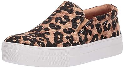 be434d113dc Steve Madden Women s Gills-A Sneaker Leopard 5.5 M US