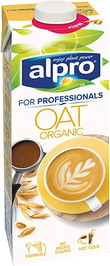Alpro for Professionals - Leche de avena orgánica (1 L) 8 Cartons: Amazon.es: Alimentación y bebidas