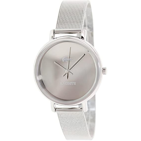 Lacoste – 2000714 – Everyday Essentials – Reloj Mujer – Cuarzo Analógico – Reloj Plata –
