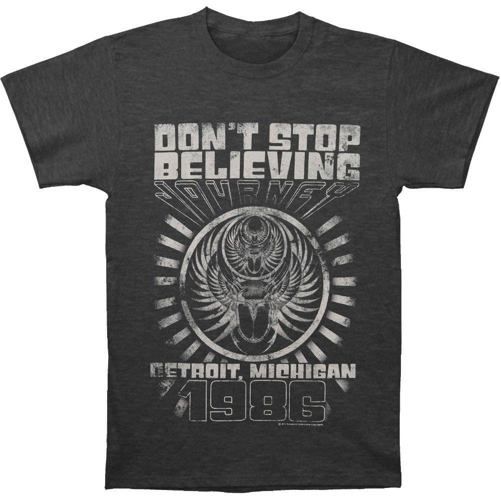 Journey Men's Detroit T-shirt Large Heather Charcoal