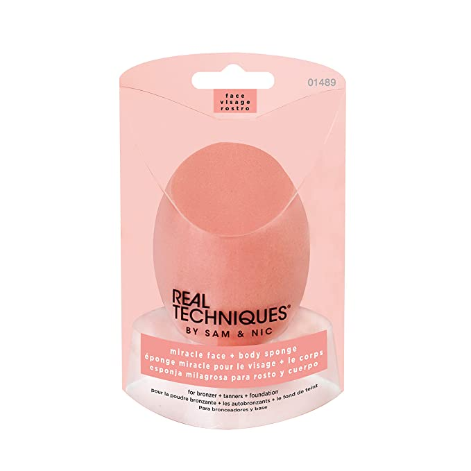 1 opinioni per Real Techniques, spugnetta miracle face and body complexion