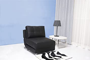 Modren Futon Chair Bed Leader Lifestyle Rita Faux Leather Black X Inside Inspiration Decorating