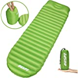 OUSPT Inflatable Sleeping Mat,Camping Inflatable Sleeping Pad Camping Mattress Ultralight Portable Sleeping Pad Bag for Camping, Travel, Hiking, Backpacking