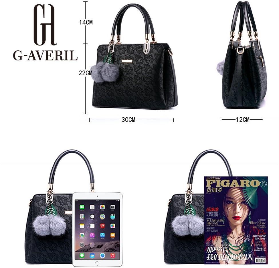Borse In Vera Pelle Designer Top-Handle Spalla Del Tote Della Borsa Per Le Donne G-AVERIL