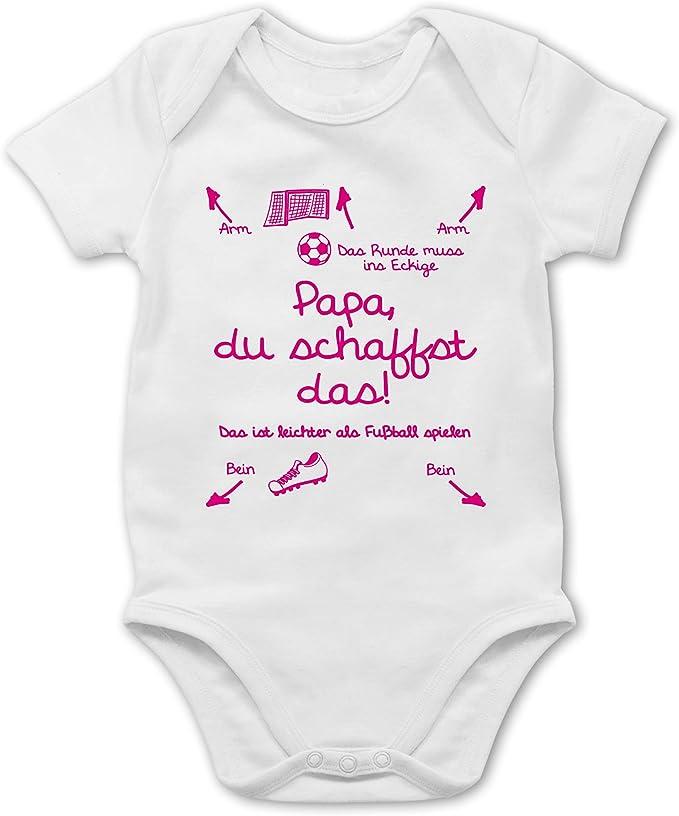 Baby Bodysuit Bodies Strampler mit Motiv Papa wir schaffen das Lustig Fun