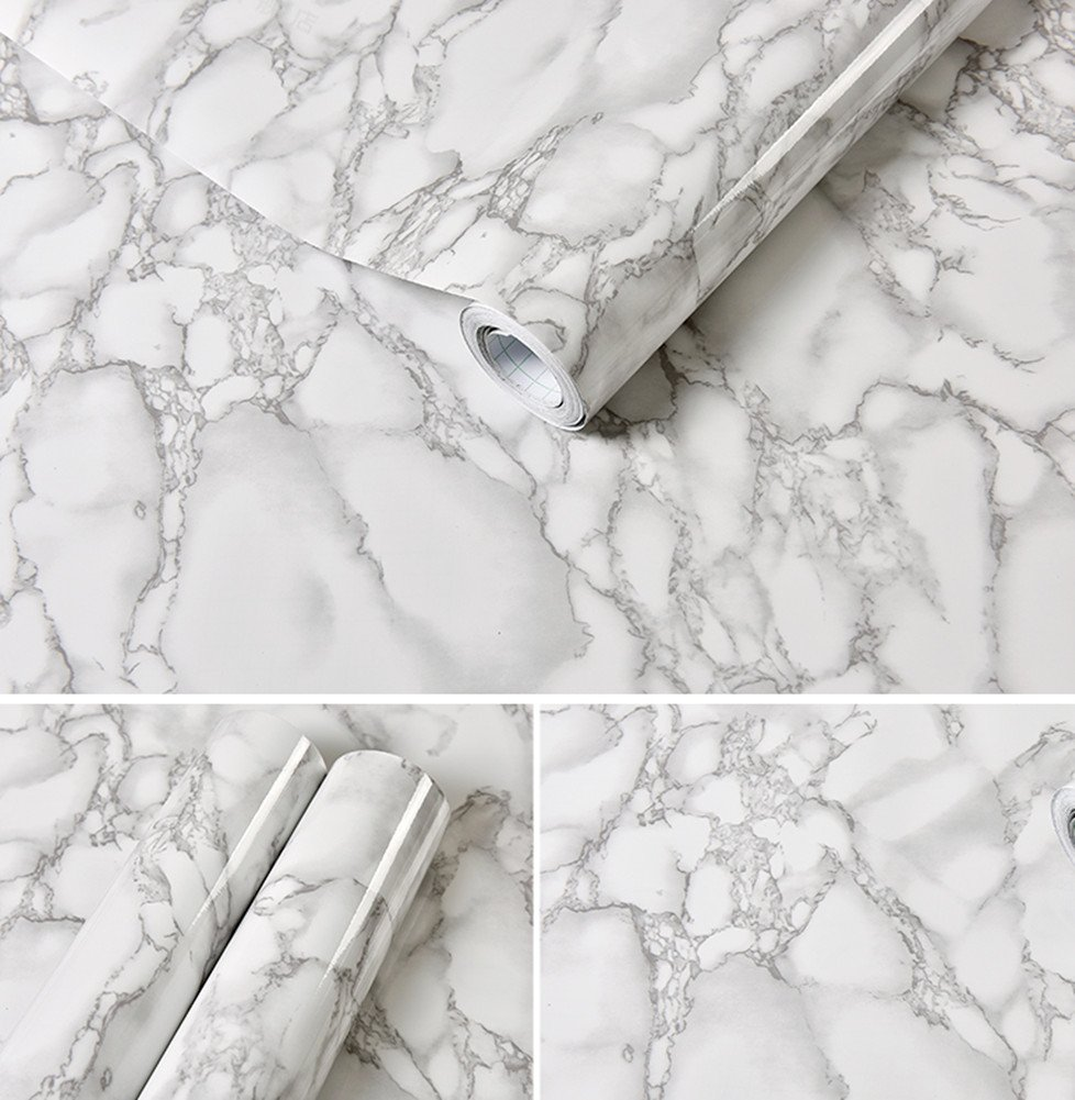 Emoyi Marble Granite Look Effect Contact Paper Self Adhesive