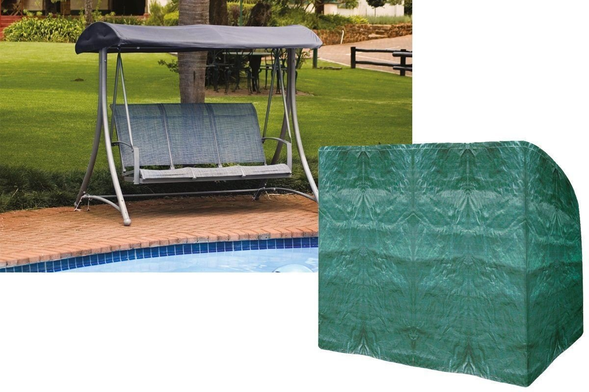 New 3 Seater Swing Cover Waterproof Durable Tear & Rip Resistant Polyethylene Cover discountin ltd